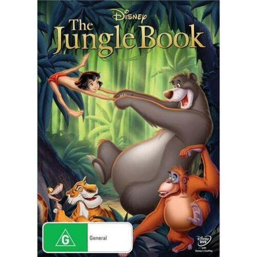 1 of 1 - THE JUNGLE BOOK : NEW Disney DVD