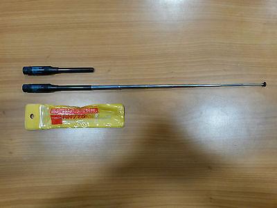 Funktechnik Cb-funkgeräte Methodisch Antenne Tragbar Dualband Diamond Rh775 144/430 Bnc Teleskopisch Wohltuend FüR Das Sperma