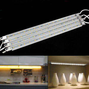 Gentil Das Bild Wird Geladen Lichtleiste Unterbauleuchte Beleuchtung LED  Lampe 4 Teilig Kleiderschrank