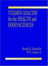 Vitamin Analysis for the Health and Food Sciences-ExLibrary