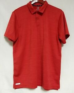 Free-Country-Mens-Red-Short-Sleeve-Ultimate-Comfort-Polo-Golf-Large