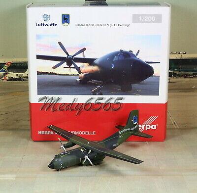 Herpa Wings 1:200 Lockheed C-160 Luftwaffe LTG 61 50th Anniversary 559201