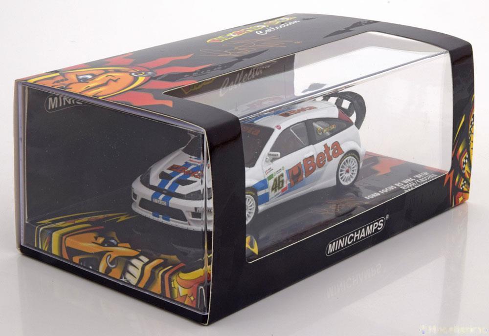 FORD FOCUS RS WRC  46 BETA ROSSI CASSINA RAC RALLY 2007 MINICHAMPS 400078446