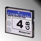 High Speed 4GB 4 GB Compact Flash Memory Compactflash CF Card for DSLR HD Camera