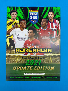 Panini Adrenalyn Fifa 365 2020 21 2021 Update Fifa 365 2021 148 Cards a scelta