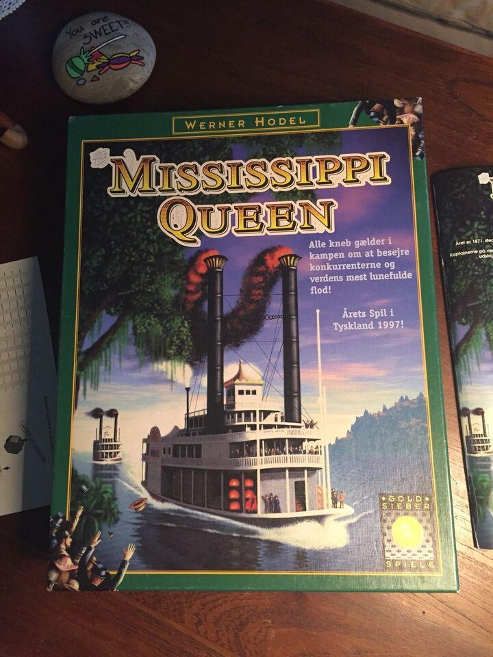 Mississippi Queen, Strategispil/ børne-familiespil,