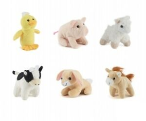 1-X-Living-Nature-Farm-Mini-Buddies-Soft-Toys-Plush-Cuddle-Kids-Children-Xmas-Gi