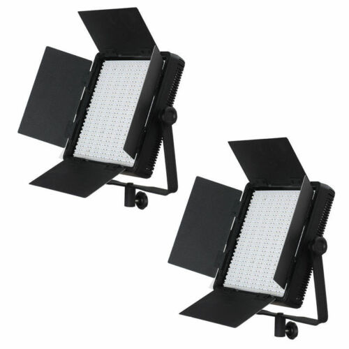 2x nanguang bi-color LED superficies-luz cn-600csa video-lámpara foto-Studio-lámpara