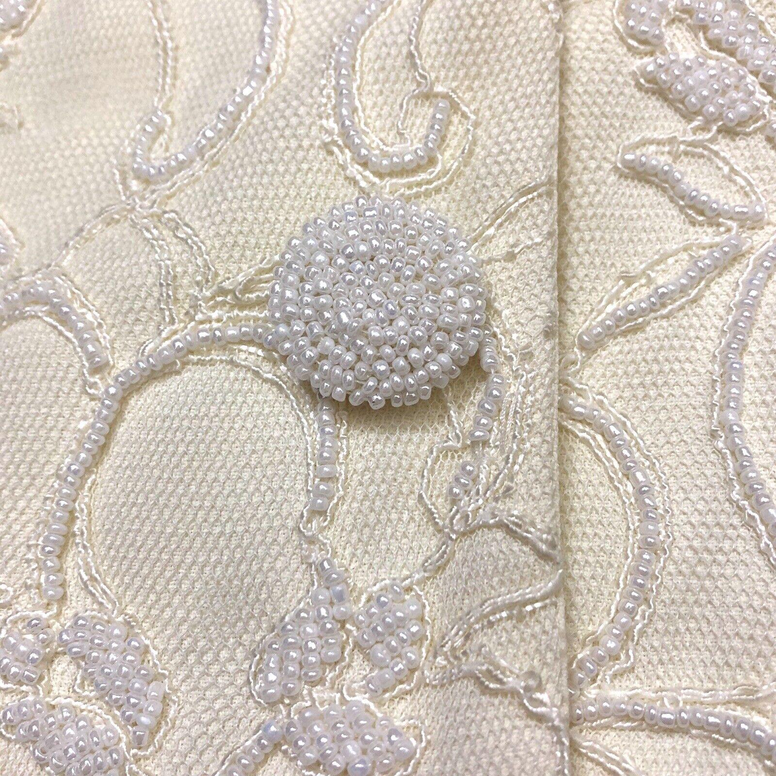 Marie St Claire Long Jacket Vintage Sz 12 Pearl B… - image 7