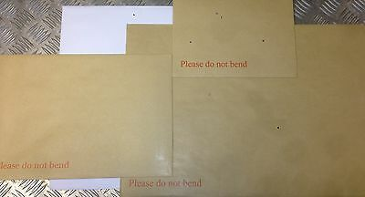 STRONGEST BOARD BACK / BACKED ENVELOPES DO NOT BEND C3,C4,C5,C6 ALL QUANTIITES