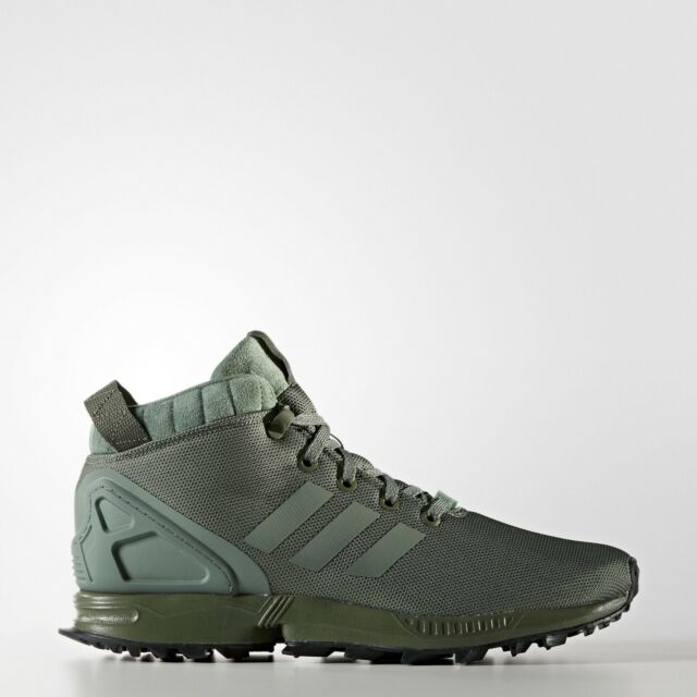 top fashion low price sale best place Adidas ZX Flux 5/8 TR Trail Shoes Major/Trace Green/Core Black [BY9434] -  UK 9