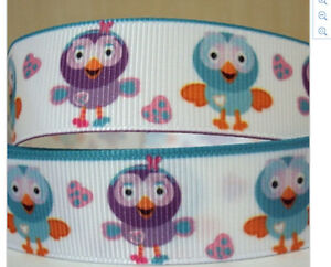 Giggle And Hoot Ribbon For Cake Decorating Or Scrapbooking