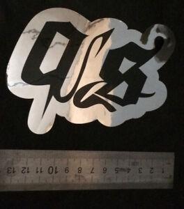 Bien Sticker Quakysense Black/miror - 11cm X 13cm - Jetski - Pwc - Wake