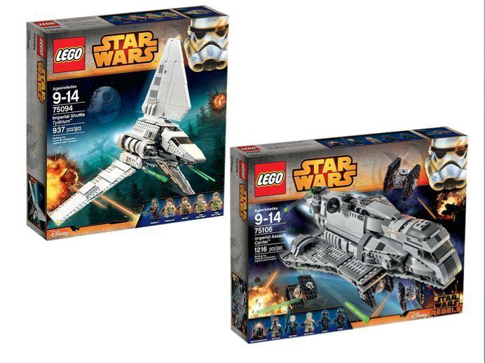 LEGO ® Star Wars ™ confezione doppia 75094 + 75106 NUOVO OVP NEW MISB NRFB