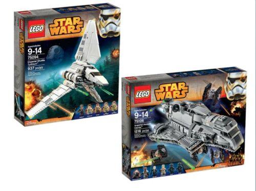 LEGO® Star Wars™ Doppelpack 75094 75106 NEU OVP NEW MISB NRFB
