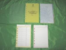 Classic Floral Tab Page Amp Accessory Lot Franklin Covey 365 Planner Refill Fill