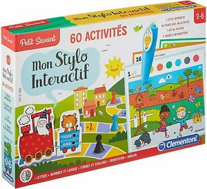 Clementoni Mon Stylo Parlant 60 Activites Jeu Educatif Des 3 Ans Ebay