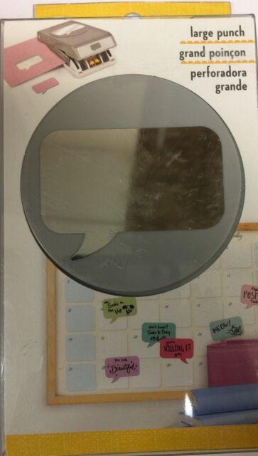 EK Tools Paper Punch Large Quote Bubble 54 30336 EBay