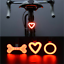 USB-Rechargeable-Bike-Rear-Tail-Light-LED-Bicycle-Warning-Safety-Smart-Lamp-New thumbnail 1