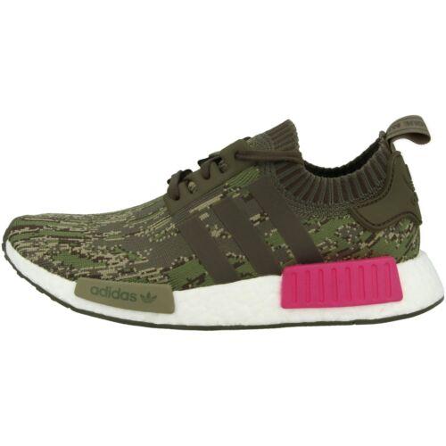 adidas nmd r1 primeknit männer lässige sneakers green utility schuhe