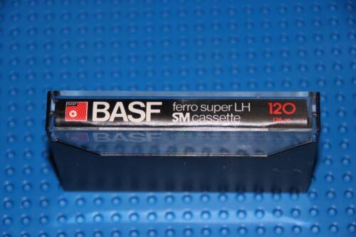 NEW 1 BASF  FERRO SUPER LH  120   BLANK CASSETTE TAPE