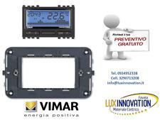 Cronotermostato  a batterie elettronico Vimar 16992 sostituisce il Vimar 16575