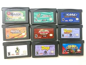 Lot-of-9-Nintendo-GBA-Gameboy-Advance-Games-Tested-Working