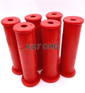 Schubkarrengriffe ca 6 Stück Schubkarre Rot 30 mm Griffe