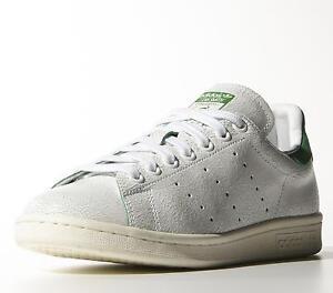 Adidas Originali Stan Smith M19585 Bianco Verde E Le Donne Di Pelle