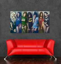 "Avengers gf large sexy girl poster wall sticker walls decor 105x60cm 41.33""x26"""