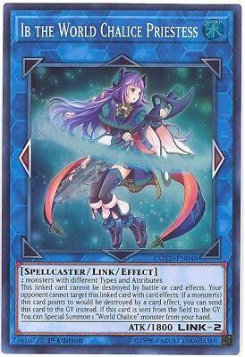 Super Rare 1st Ed x3 YuGiOh Auram the World Chalice Blademaster COTD-EN049