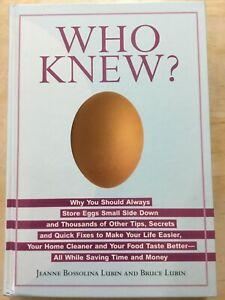 WHO-KNEW-by-Jeanne-Bossolina-Lubin-amp-Bruce-Lubin-2006-Hardcover