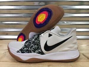 b6aab664a59 Nike Kyrie Irving Low Basketball Shoes White Black Gum SZ ( AO8979 ...