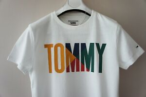 Tommy-Jeans-Para-Hombres-Tommy-Logo-T-Shirt-Tee-Tommy-Hilfiger