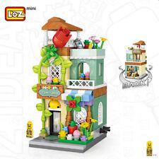 LOZ 1643 Blocksteine Spielzeug Gebäude Straße Geschäfte