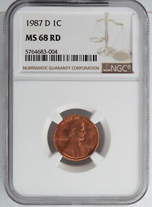 1994-D Lincoln Memorial One Cent NGC MS66RD