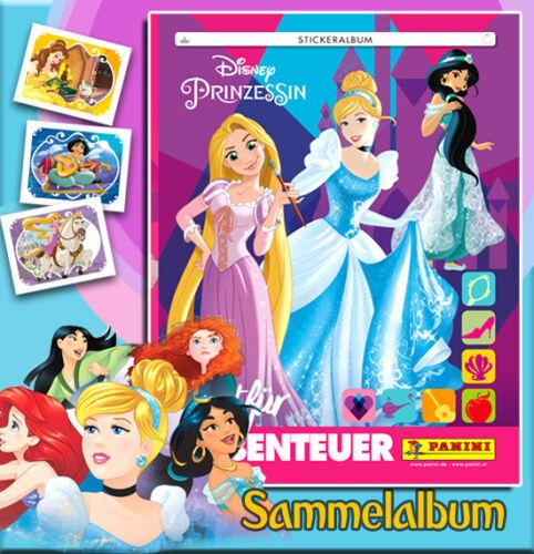 Panini Disney Princesa este álbum album Princess listo para aventuras
