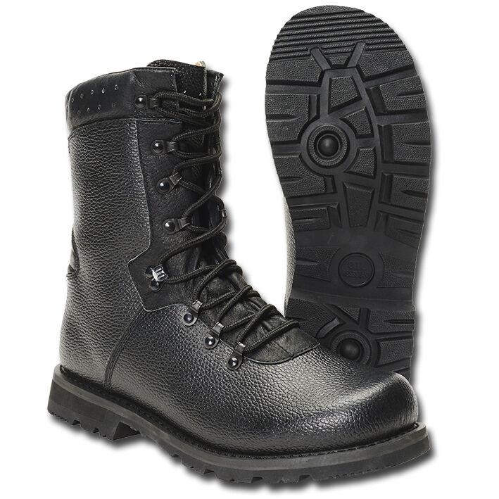 Brandit noir bw bottes de combat modèle 2000 allehommed para style démarrage
