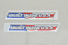 2 x GT Reproduction Built In USA BMX Decals/Sticker - 1990's - Mid/Old School