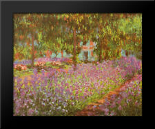 Le Jardin De Monet A Giverny By Claude Monet The Garden Framed