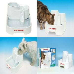 Cat Supplies Cat Mate Fresh Water Drinking Fountain For Cats And Small Dogs