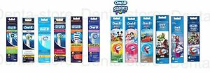 BRAUN-ORAL-B-ELECTRIC-TOOTHBRUSH-HEADS-ALL-STYLES-100-GENUINE-KIDS-STAGES