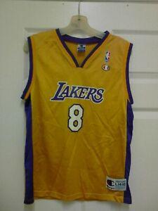 Kobe Bryant Champion #8 Vintage Jersey Youth Size Large 14 - 16 | eBay