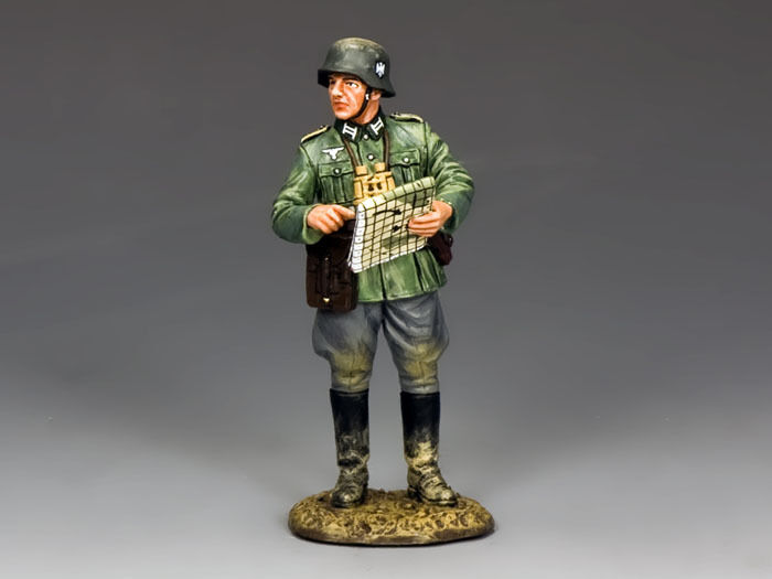 WS278 Officer with Map by King & Country