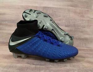 cheap for discount 16688 1873d Details about Nike Hypervenom 3 Elite DF FG Blue Soccer Cleats AJ3803-401  Men's Size 9.5 NEW