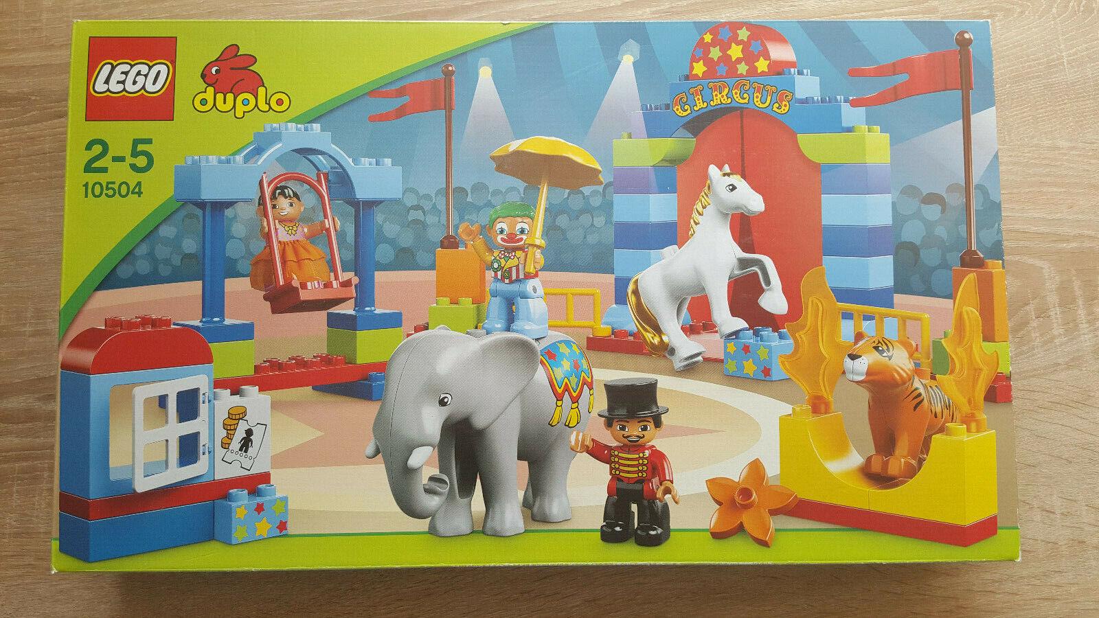 10504 LEGO duplo Großer Zirkus  NEU und OVP