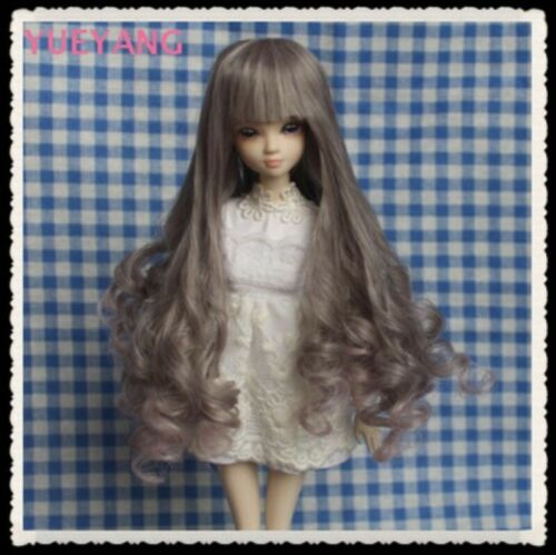 Toy Hair Wigs for 1//12 SD Doll BJD Soft Re flexible Accessory
