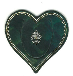 Small-Green-Italian-Leather-Bookmark-Florence-Heart-Lily-Heraldic-Gift-Him-Man