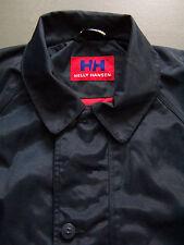 Helly Hansen Jacket Men's Large Blue Waterproof Coat Vintage BRG595