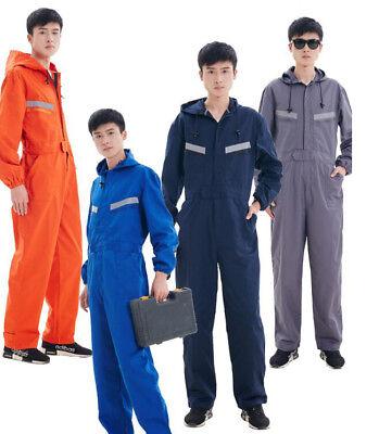 7706Men Women Boilersuit Coverall Overall Workwear Tuff Work Royal Pant Jumpsuit